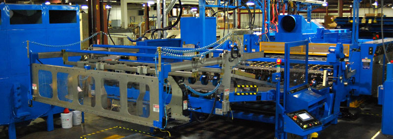 Rotary Diecut Stackers For The Corrugating Board Industry