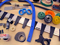 corrugating machinery spares