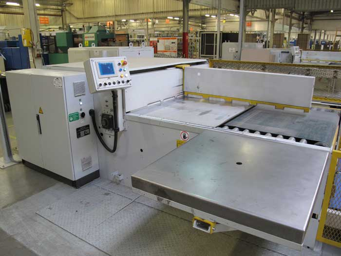 c tech robotic palletiser for logistic and production logistics robotic arms