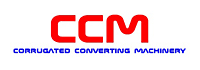 ccm corrugating converting machinery logoo